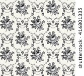 seamless classic pattern.... | Shutterstock .eps vector #416801335