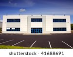 photo of white corporate office ... | Shutterstock . vector #41688691