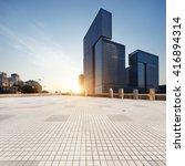 empty marble floor with... | Shutterstock . vector #416894314