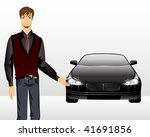 young man on a background a...   Shutterstock .eps vector #41691856