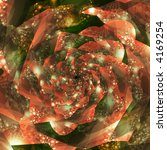 abstract fractal spiral that... | Shutterstock . vector #4169254