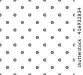 seamless small hexagon pattern  ... | Shutterstock .eps vector #416932834