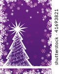 abstract christmas tree | Shutterstock .eps vector #41693821