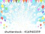 star and flag  background | Shutterstock .eps vector #416960359