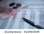 insurance financial planning | Shutterstock . vector #416965039