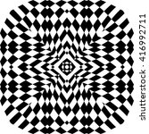 optical illusion background... | Shutterstock .eps vector #416992711