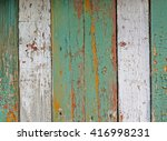 the wall of the old boards.... | Shutterstock . vector #416998231