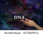 the specifics of dna   female... | Shutterstock . vector #417005911