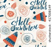 summer background pattern in...   Shutterstock .eps vector #417008149