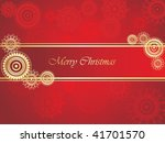 merry christmas background | Shutterstock .eps vector #41701570