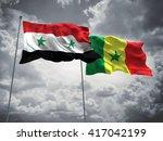 3d illustration of syria  ...   Shutterstock . vector #417042199