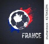 france football background | Shutterstock .eps vector #417043294