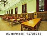 Readling room in university library, edmonton, alberta, canada
