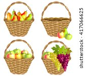 Collection Baskets Of Fruit ...