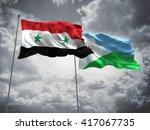 3d illustration of syria  ...   Shutterstock . vector #417067735