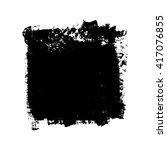 grunge texture design. vector... | Shutterstock .eps vector #417076855