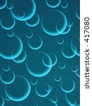 bubble background | Shutterstock . vector #417080