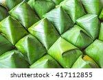 stuffed dough pyramid | Shutterstock . vector #417112855