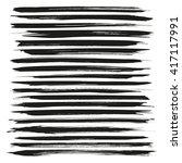 abstract long black vector... | Shutterstock .eps vector #417117991
