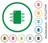 set of integrated circuit color ...
