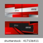 template for advertising...   Shutterstock .eps vector #417136411