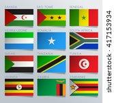 South Africa Flag Ribbon Set  ...