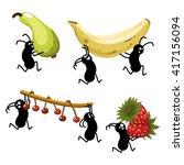 Picnic Ants Stealing Fruit Like ...