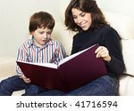 readers | Shutterstock . vector #41716594