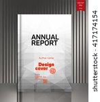 cover design. the modern... | Shutterstock .eps vector #417174154