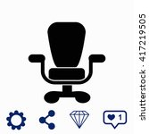 office chair icon. universal...
