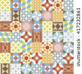 vector realistic ceramic... | Shutterstock .eps vector #417232861