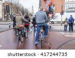 amsterdam  netherlands on march ... | Shutterstock . vector #417244735
