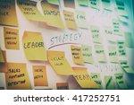 brainstorming brainstorm... | Shutterstock . vector #417252751