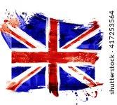 Bright  Watercolor England Fla...