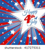 american patriotic background.... | Shutterstock .eps vector #417275311