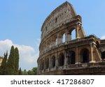 coliseum in rome | Shutterstock . vector #417286807
