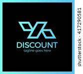 line discount design of the... | Shutterstock .eps vector #417290581