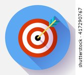 target marketing icon. target...   Shutterstock .eps vector #417290767