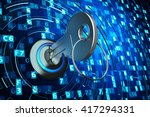 safety data access  privacy... | Shutterstock . vector #417294331