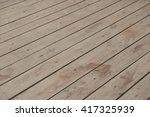angled wood plank as background | Shutterstock . vector #417325939