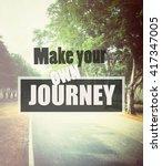 inspirational quote  ... | Shutterstock . vector #417347005