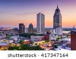 Mobile  Alabama  Usa Downtown...