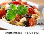 spaghetti | Shutterstock . vector #41736142
