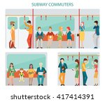 Commuters Subway Or Passangers...