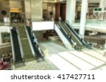 empty ads at the modern. | Shutterstock . vector #417427711