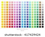 color palette.bright vector...   Shutterstock .eps vector #417429424