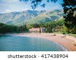 villa milocher  coast of... | Shutterstock . vector #417438904
