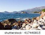panoramic shot of montenegro... | Shutterstock . vector #417440815