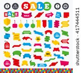 banners  web stickers and... | Shutterstock .eps vector #417444511
