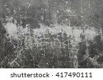 polished old grey concrete... | Shutterstock . vector #417490111